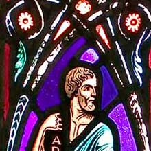 Stained glass image